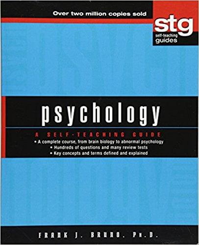 Psychology A Self Teaching Guide English