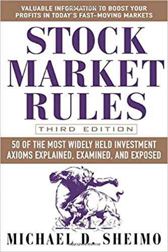 Stock Market Rules 50 of the Most Widely Held Investment Axioms Explained Examined and Exposed.2005