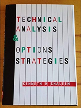 Kenneth H. Shaleen Technical Analysis Options Strategies Probus Professional Pub 1992