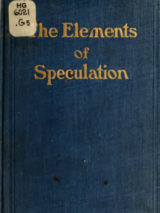 The elements of speculation x