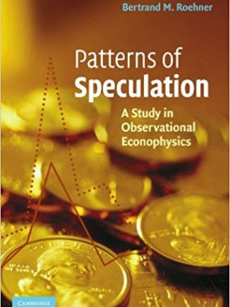 Patterns of Speculation A Study in Observational Econophysics