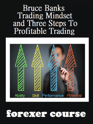 Bruce Banks – Trading Mindset and Three Steps To Profitable Trading