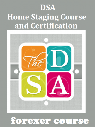 DSA – Home Staging Course and Certification
