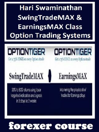 Hari Swaminathan – SwingTradeMAX EarningsMAX Class – Option Trading Systems