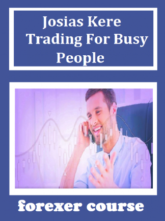 Josias Kere – Trading For Busy People