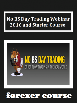 No BS Day Trading Webinar and Starter Course