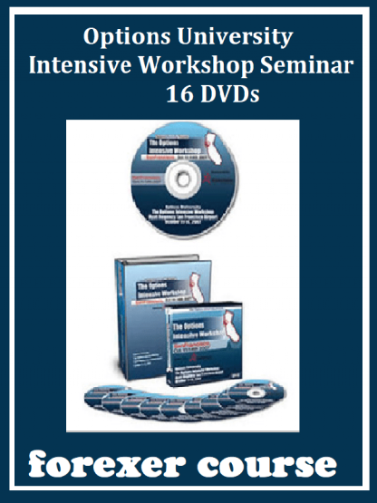 Options University – Intensive Workshop Seminar DVDs
