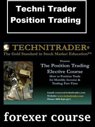 Techni Trader – Position Trading