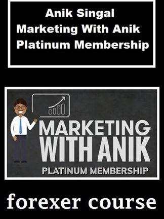 Anik Singal Marketing With Anik Platinum
