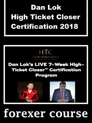 Dan Lok High Ticket Closer Certification