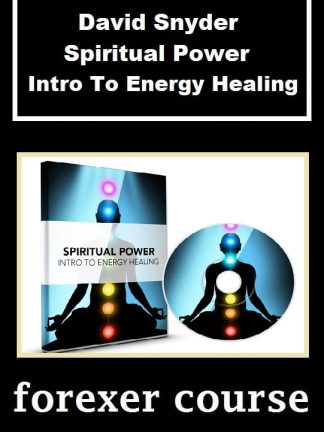 David Snyder Spiritual Power Intro To Energy