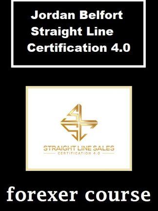 Jordan Belfort Straight Line Certification