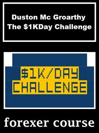 Duston Mc Groarthy The KDay Challenge